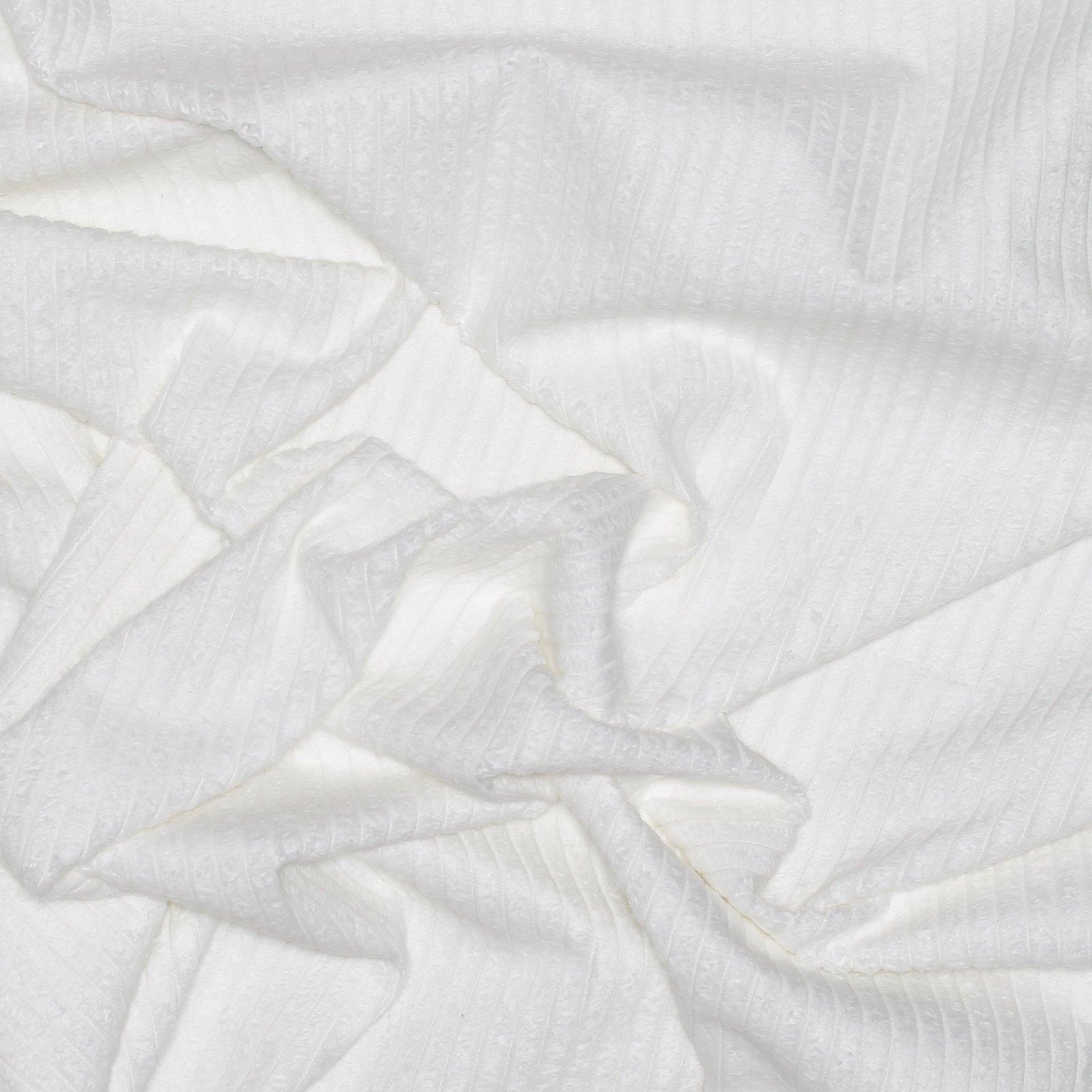 Rodarte White Cotton Italian Corduroy