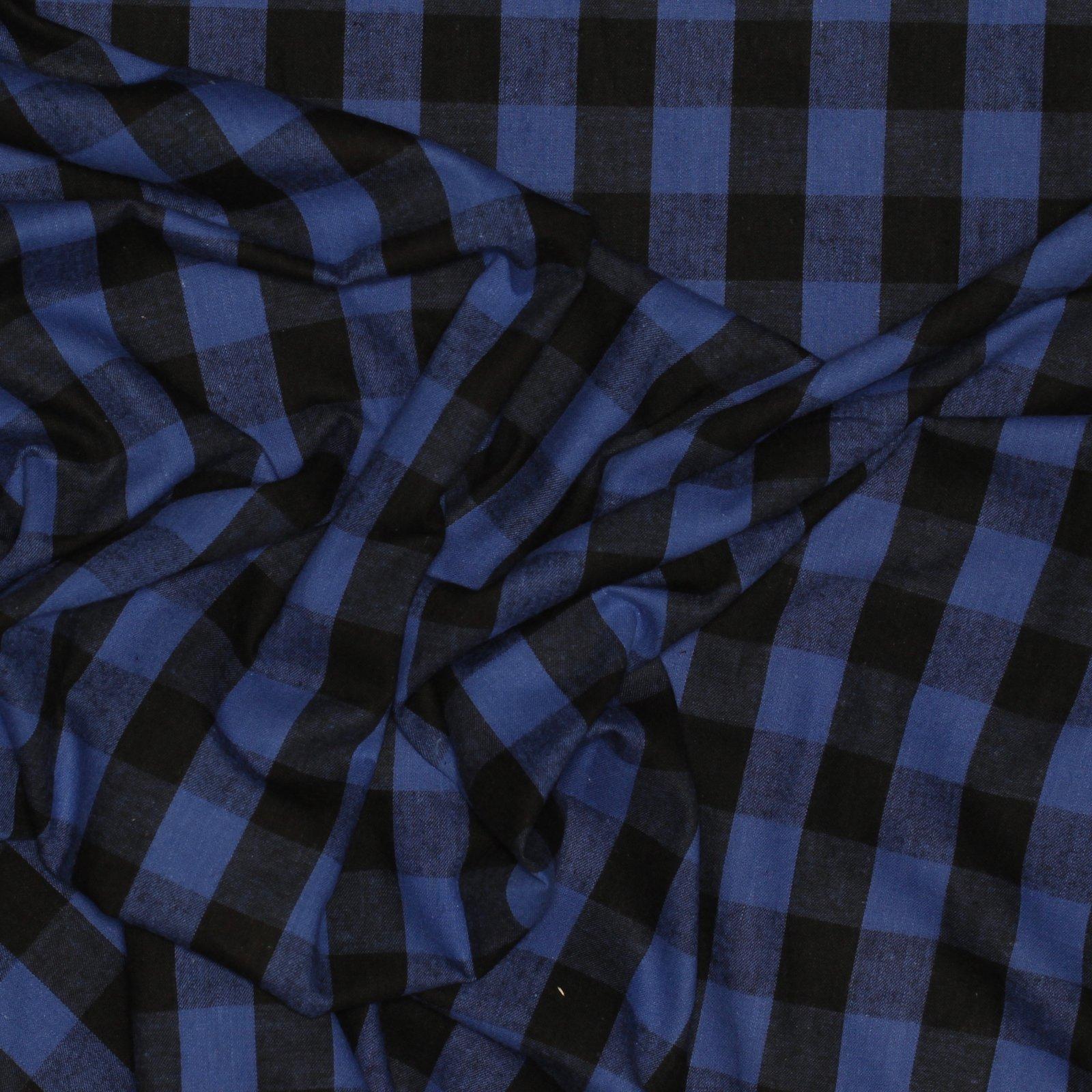 1 Violet/Black Check Cotton Flannel
