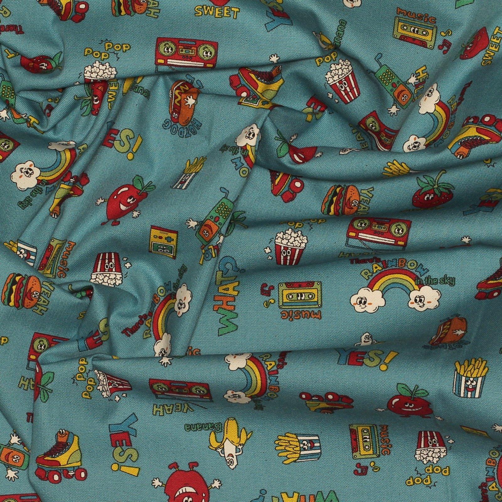 Retro Pop Culture - Kokka - Japanese Cotton