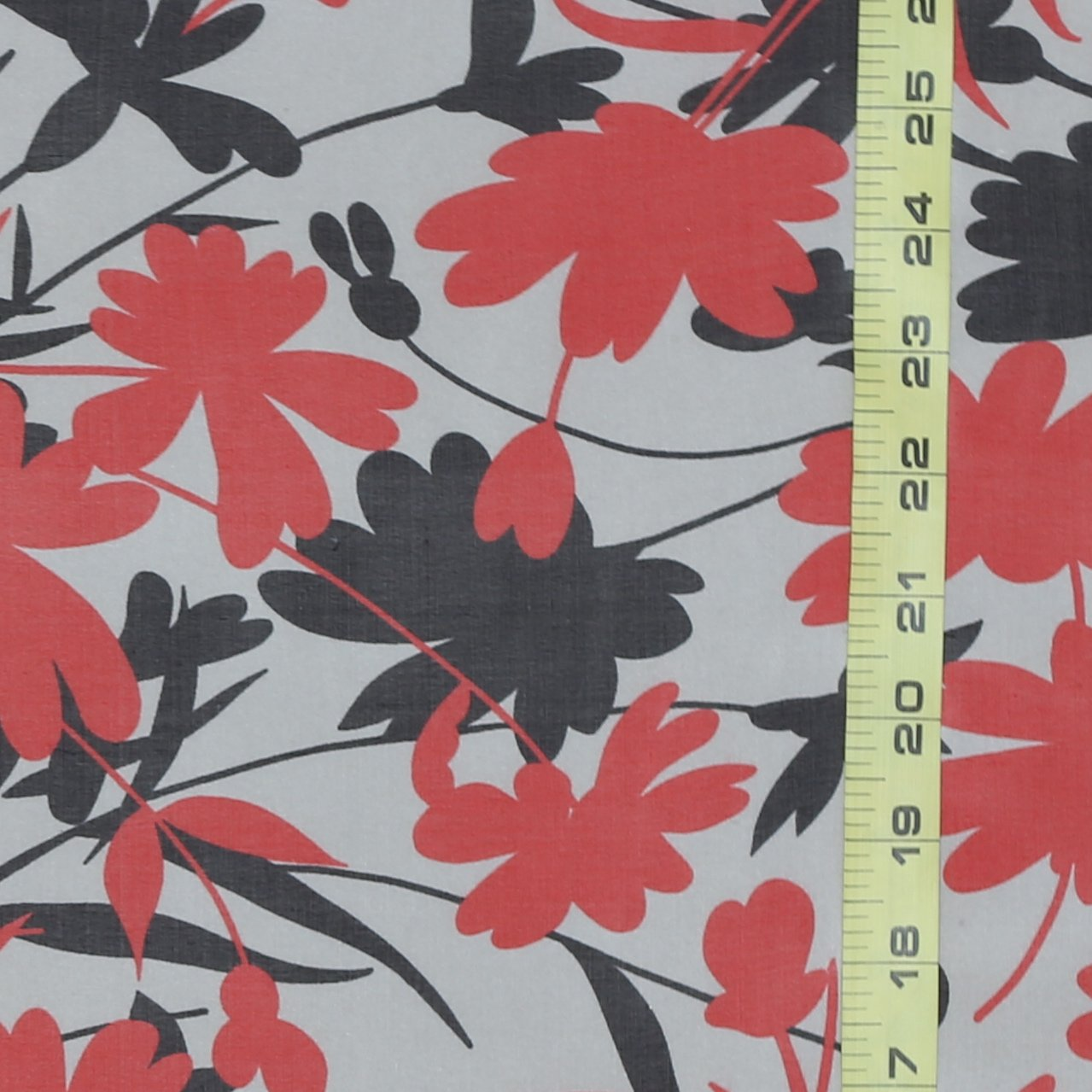 Milly Red & Black Flower
