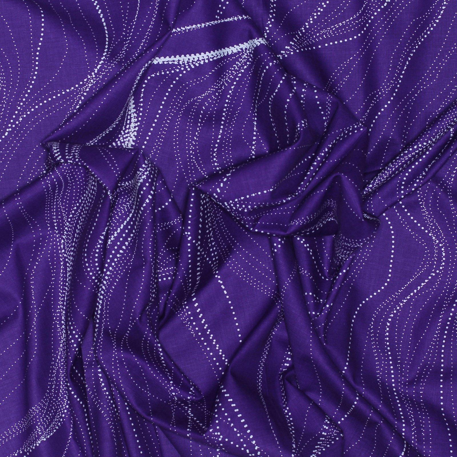 Sandhill -Purple - Australian Aboriginal Textiles