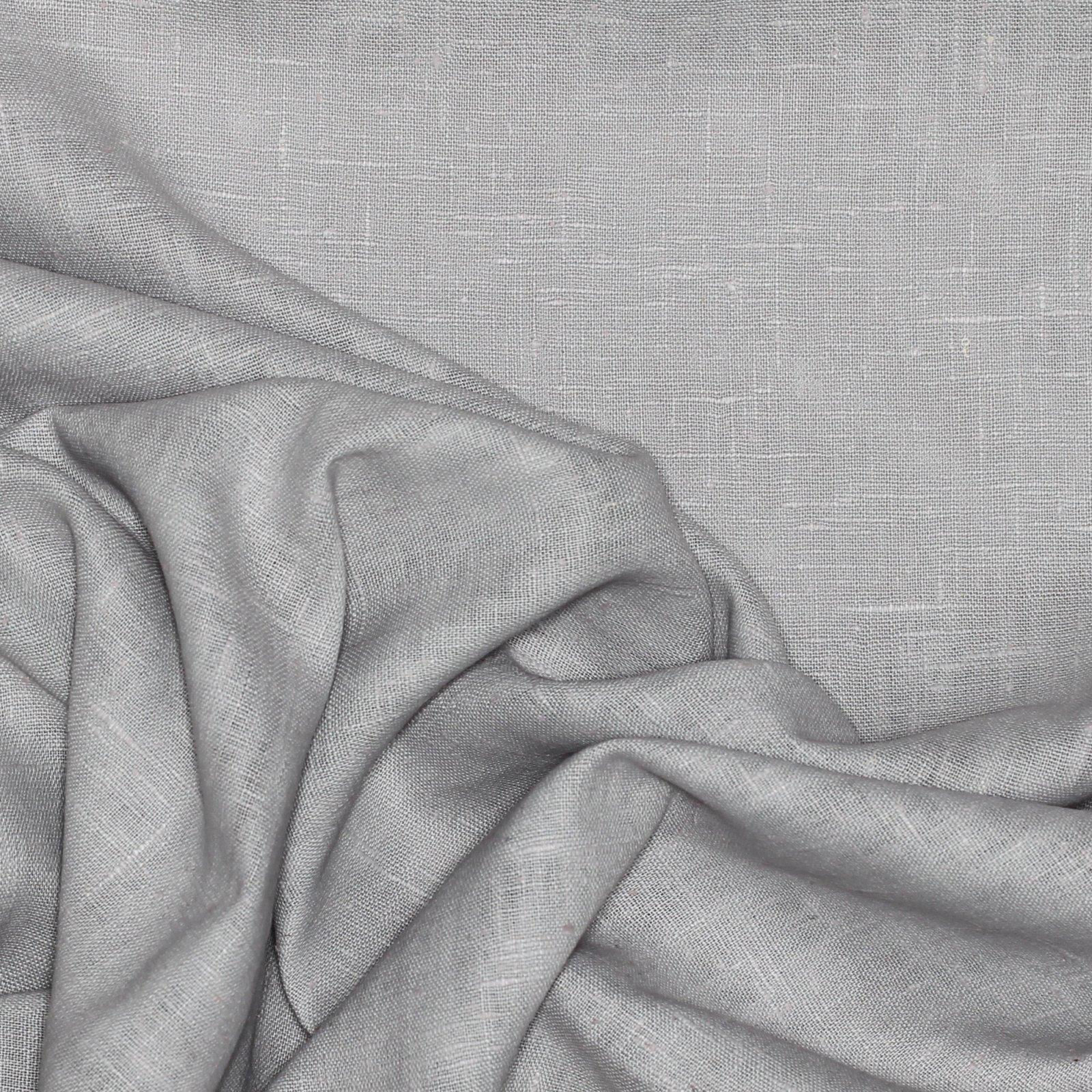 Silver/Grey Linen
