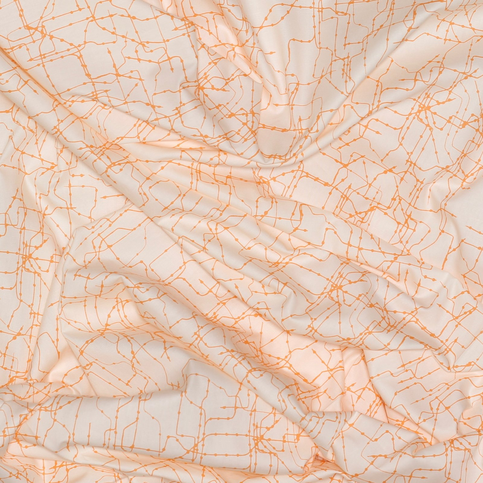 Subway Routes Glow - Art Gallery Cotton