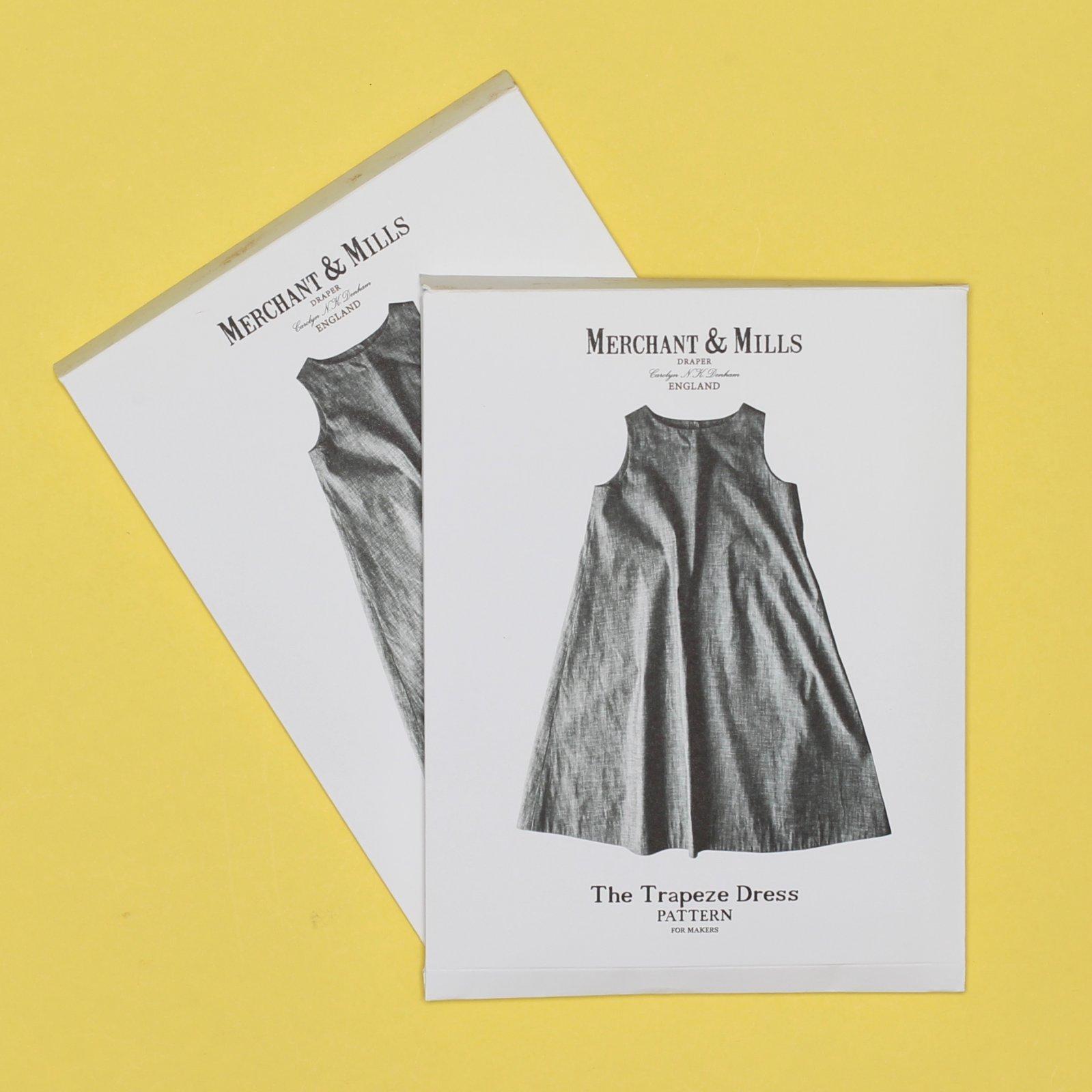 M&M PATTERN THE TRAPEZE DRESS