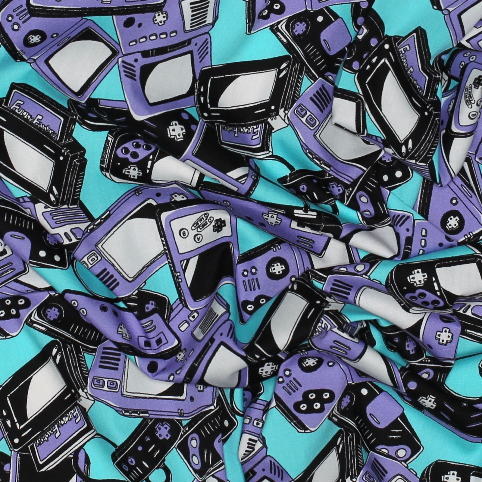 Video Game Controllers - Japanese Cotton