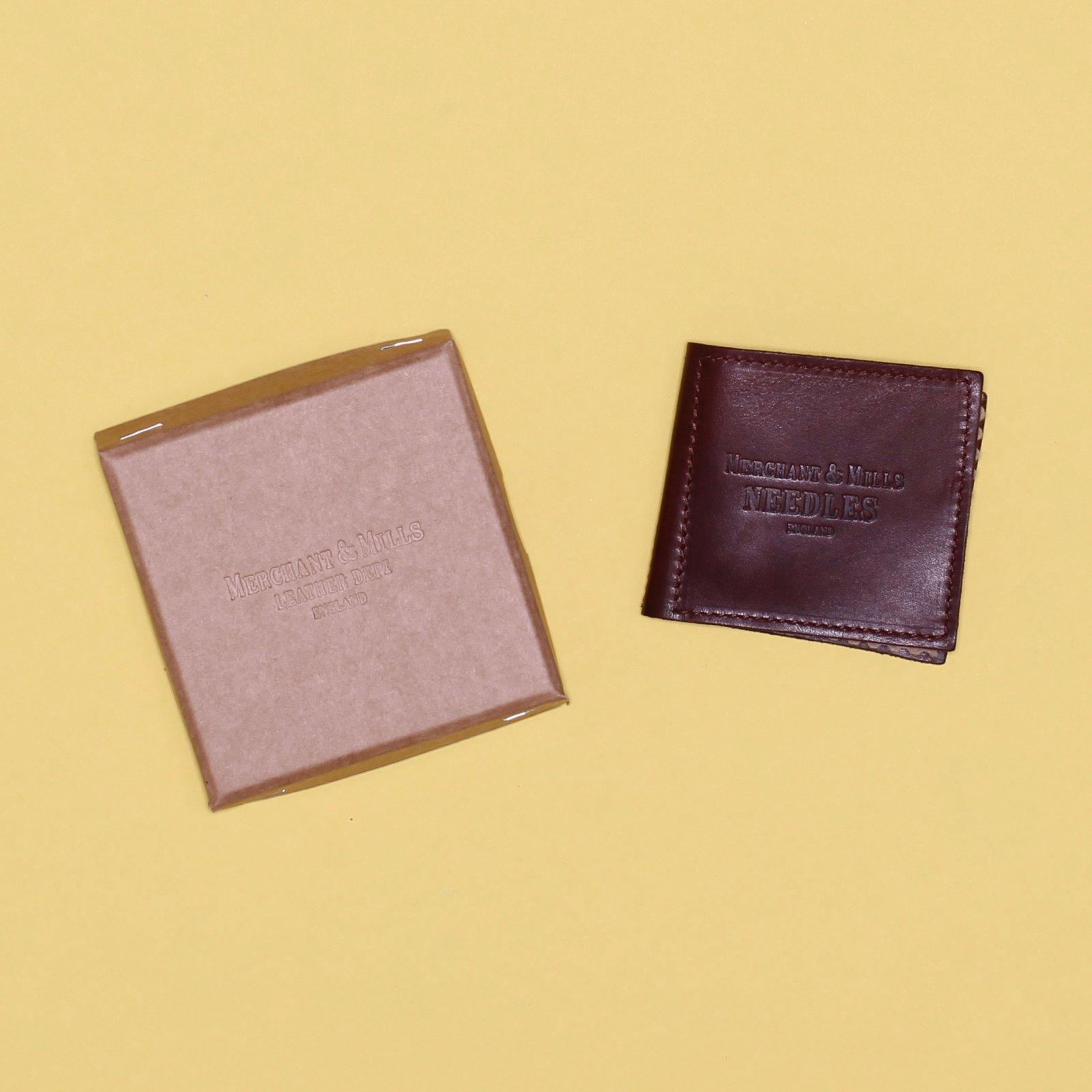 Merchant Mills Leather Needle Wallet