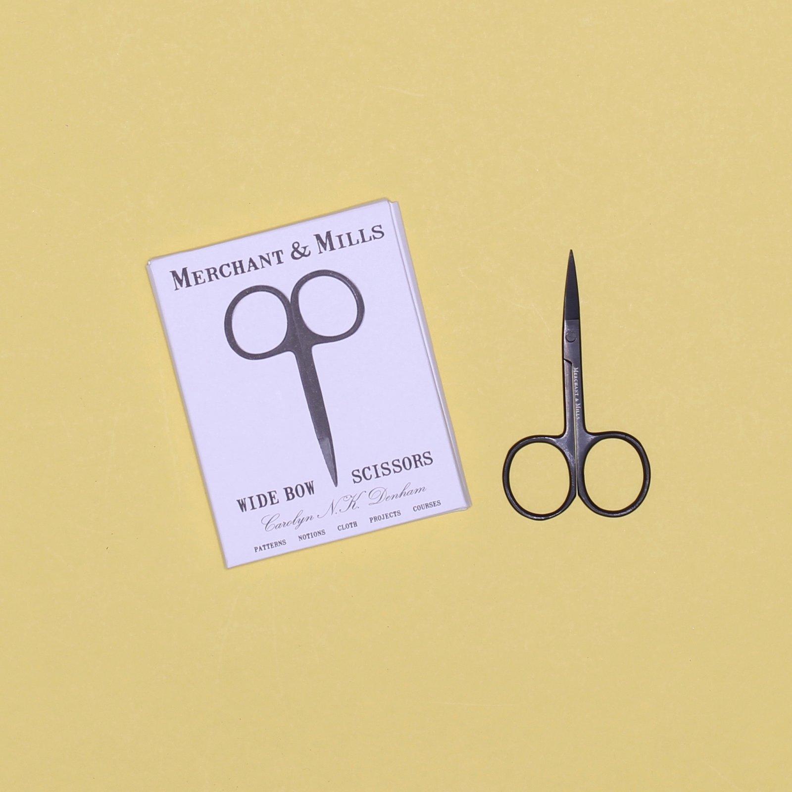 Merchant Mills Wide Bow Scissors