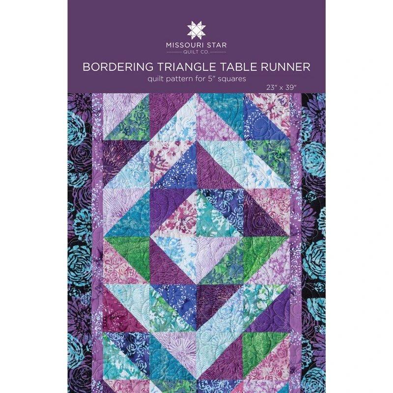 Bordering Triangle Table Runner/Missouri Star