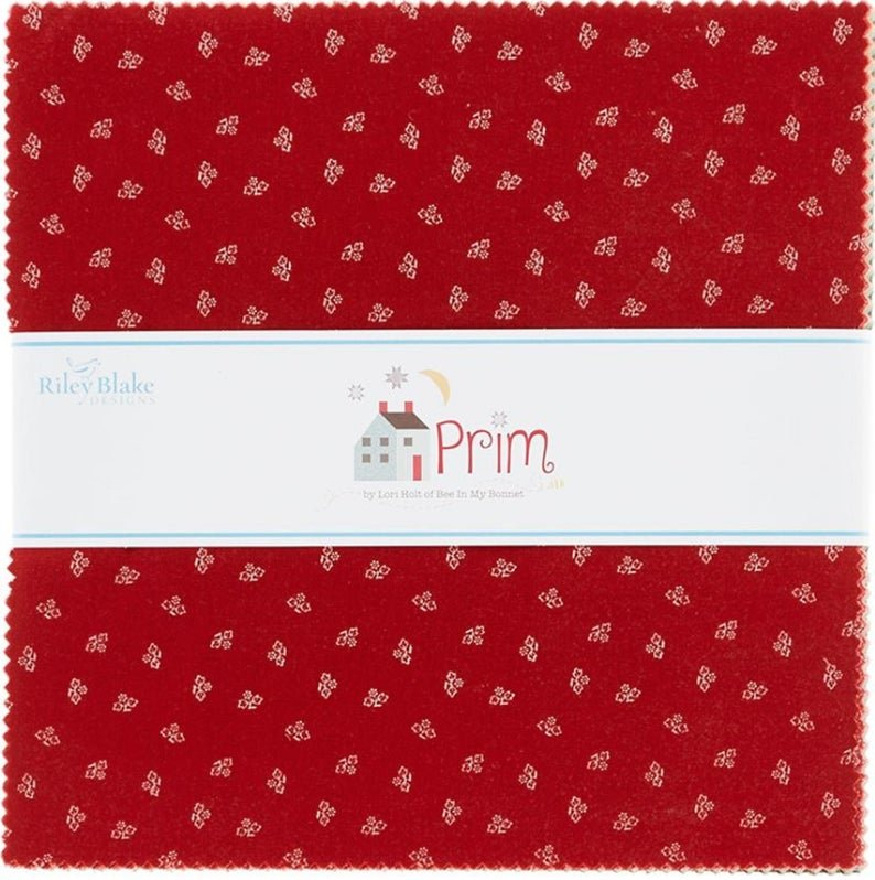 Prim by Lori Holt Bee In My Bonnett/10 stacker/Riley Blake Designs