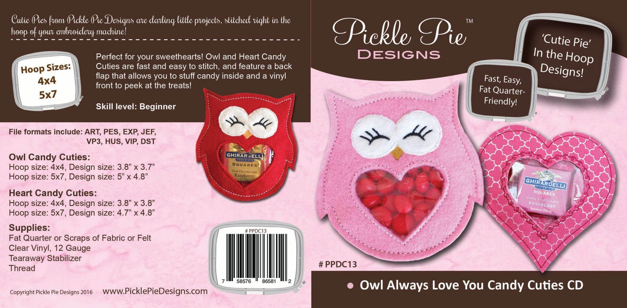 Owl Always Love You Candy Cuties