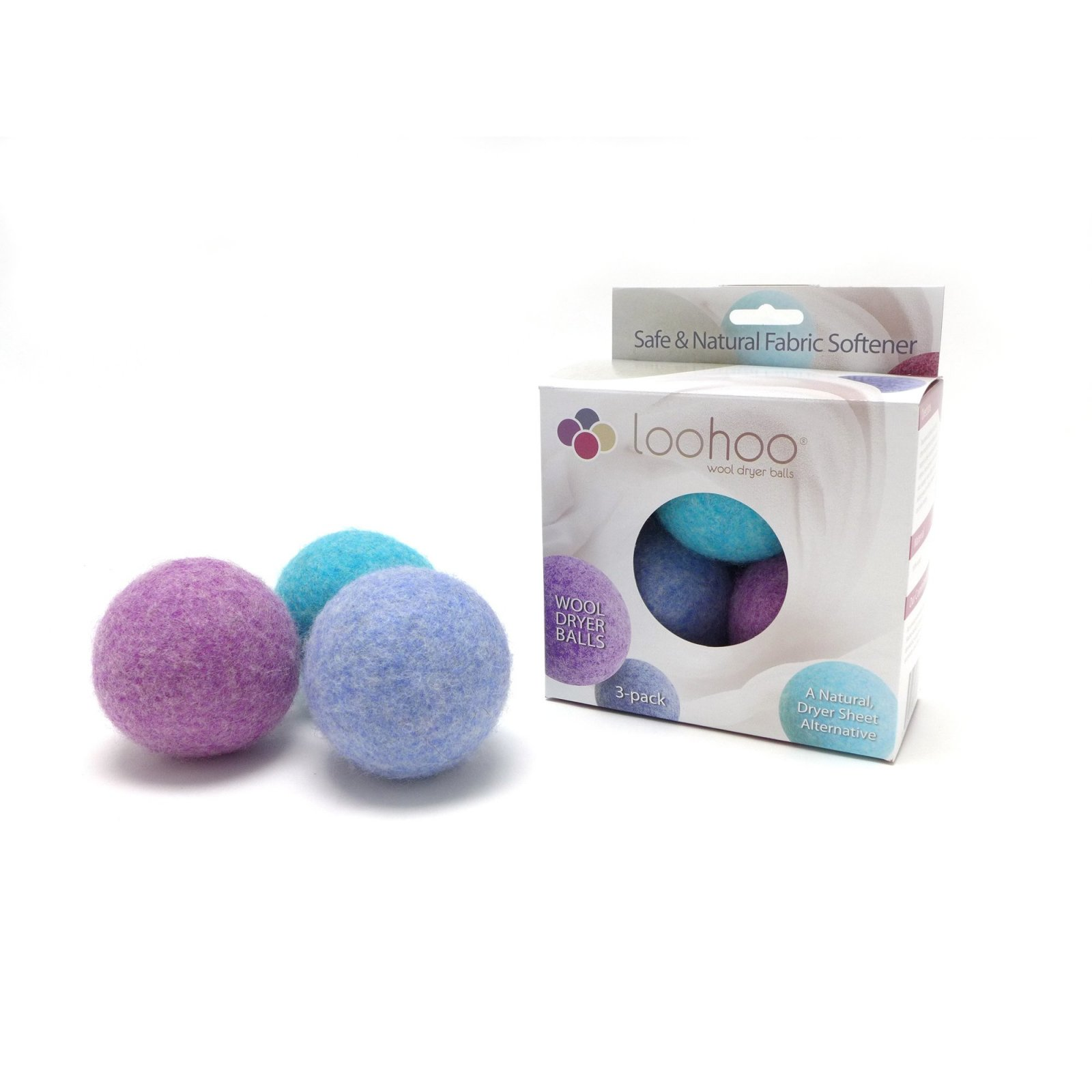 LooHoo Wool Dryer Balls 3pk