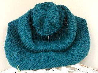 Russalka Cowl and Pouf Hat Set