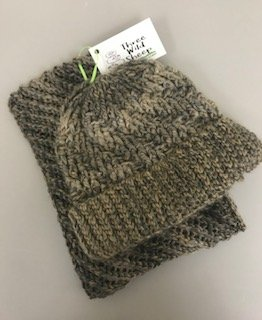 Smoke and Ashes Hat & Cowl