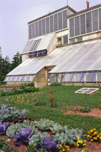 Exterior of The PEI Ark Greenhouse
