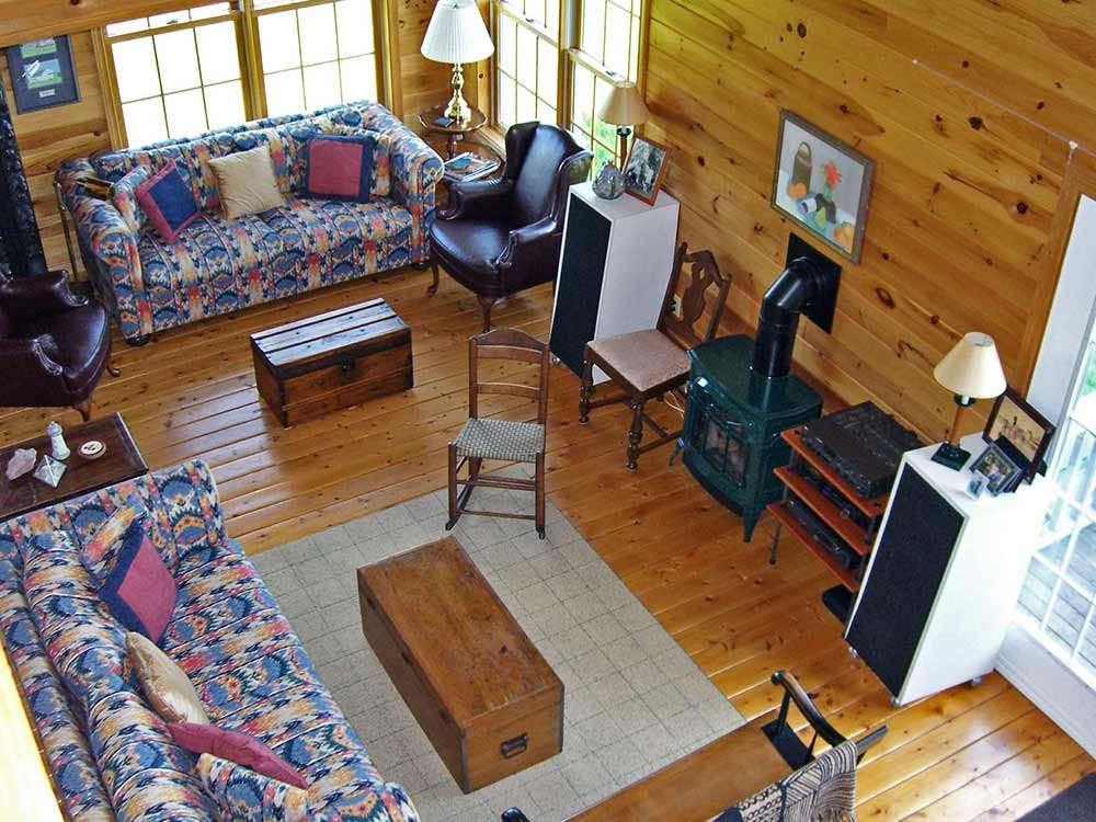 Family Room Aerial View
