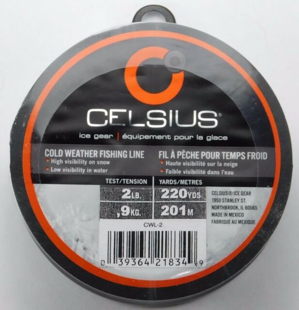 Cold Weather Fishing Line