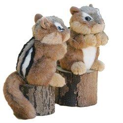 6 Chipmunk Stuffed Animal