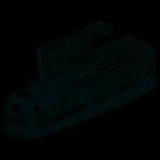 Fulton Trailer Class II Coupler, Use w/2 Ball