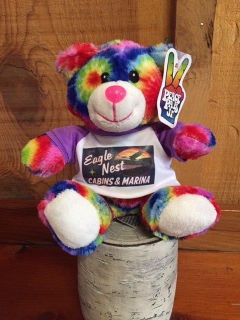Stuffed Animal Tie-Dye Teddy Jr.
