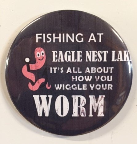 Wiggle Worm Magnet