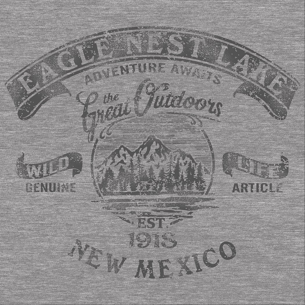 Eagle Nest Lake Great Adv. L-Sleeve T-Shirt