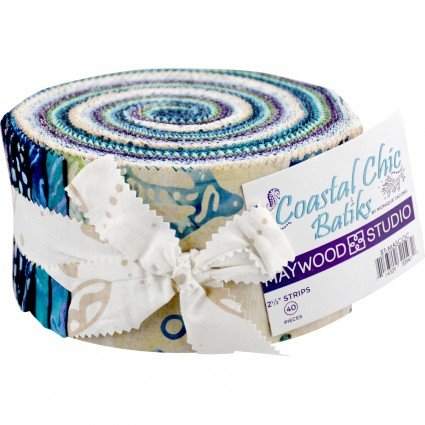 Coastal Chic Batik Jelly Roll