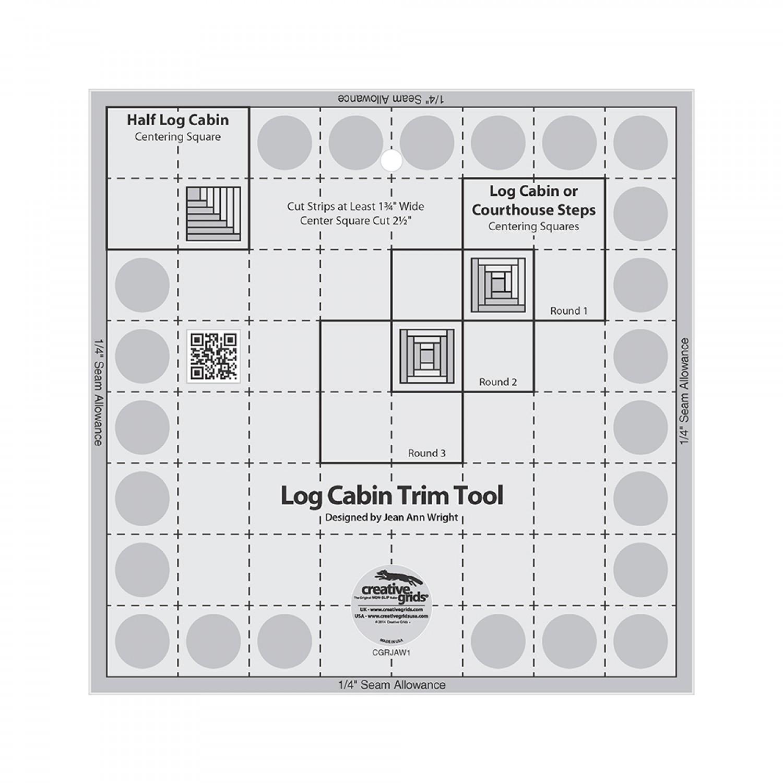 Creative Grid 8 Log Cabin Trim Tool
