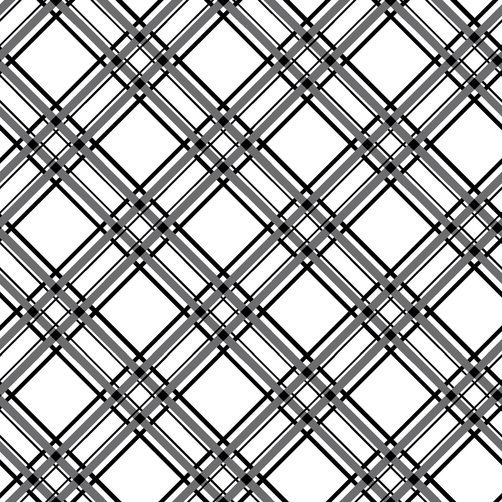Diagonal Plaid Design by Kimberbell
