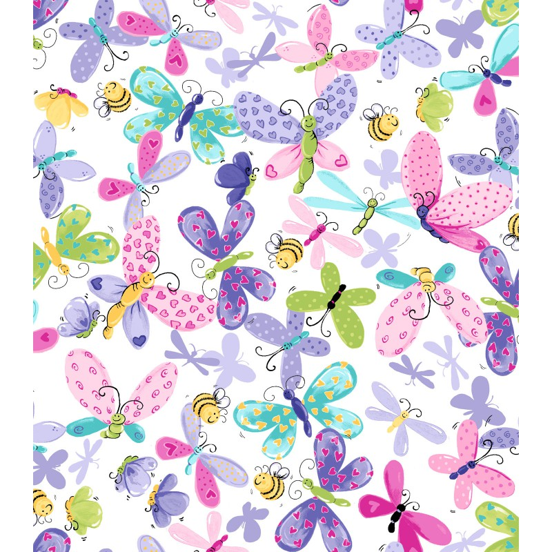 Flutter the Butterfly Print