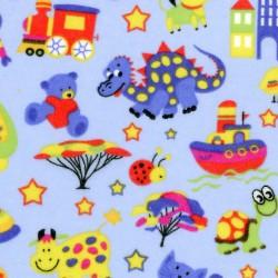Kids Print Flannel