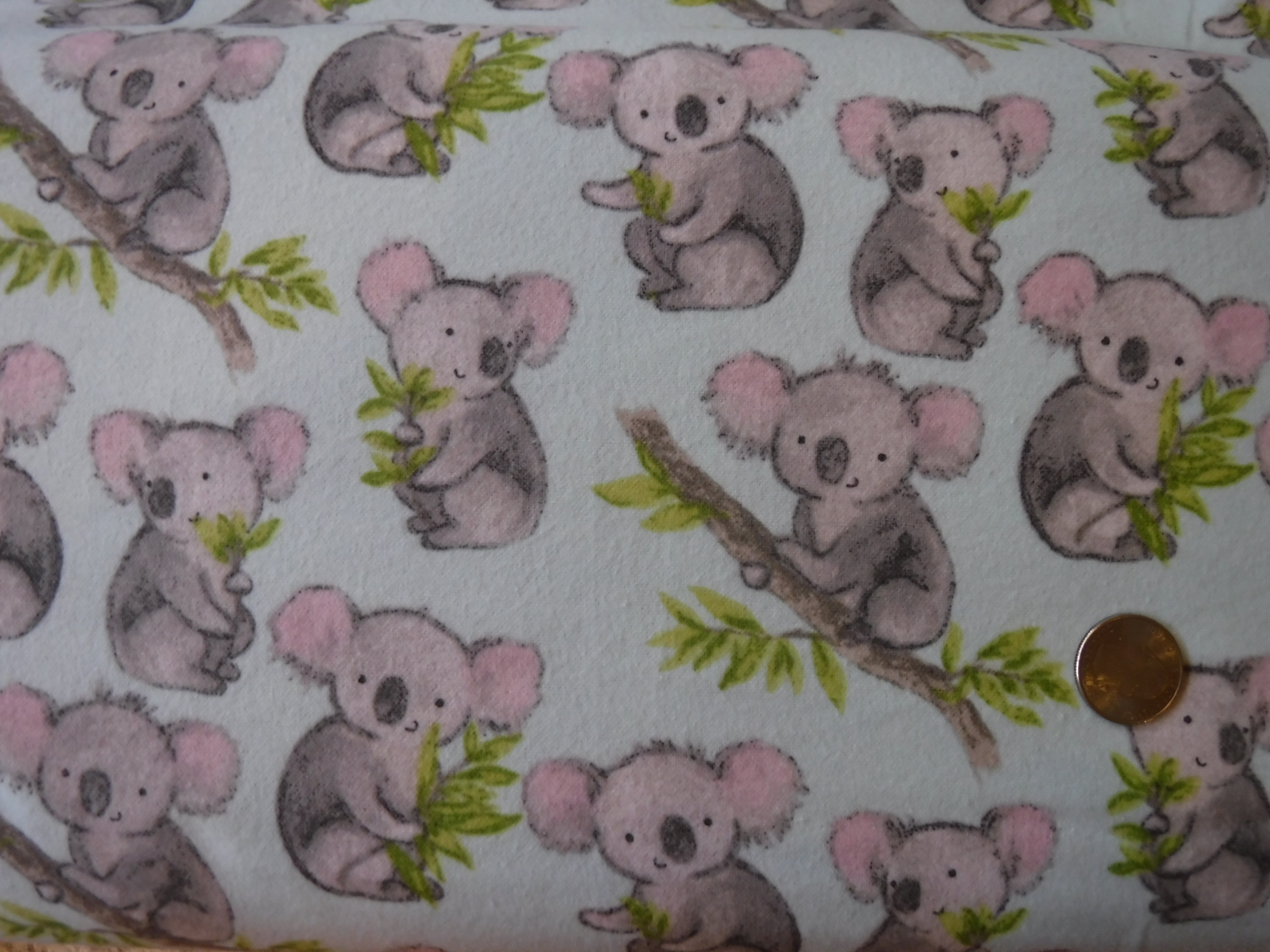 Kola Bear Flannel
