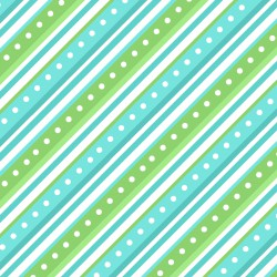 Lil' Sprout Flannel - Green Stripe
