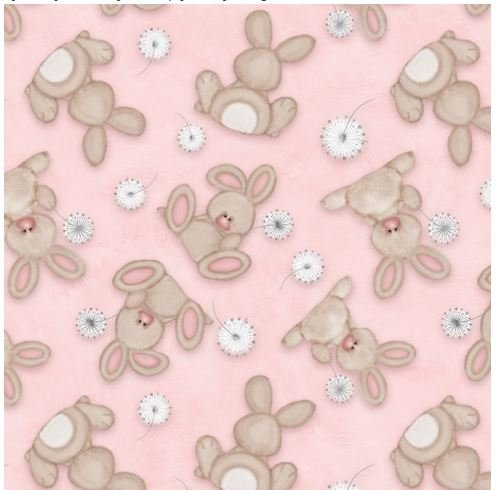Fluffy Bunny Flannel