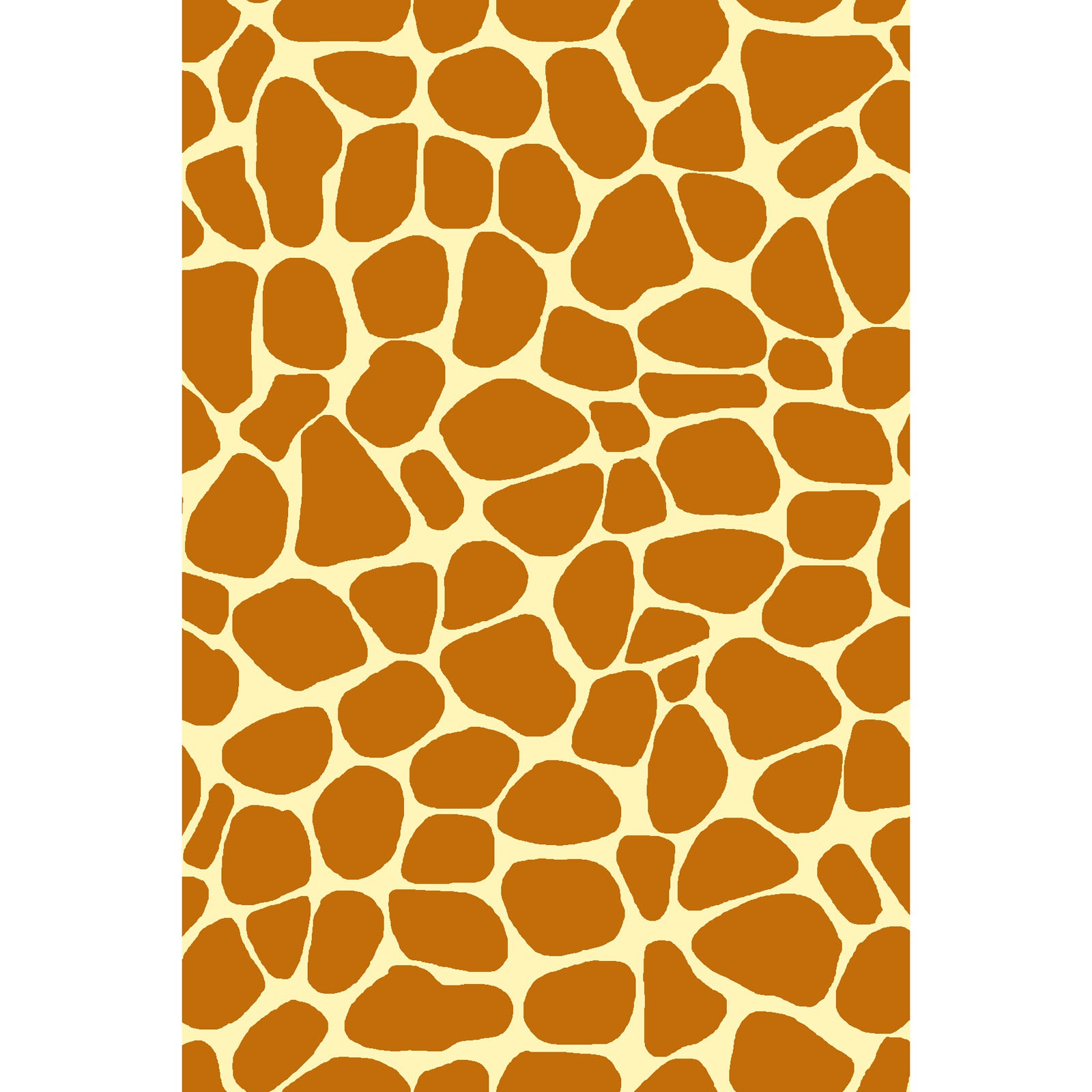 Zoe the Giraffe - Orange