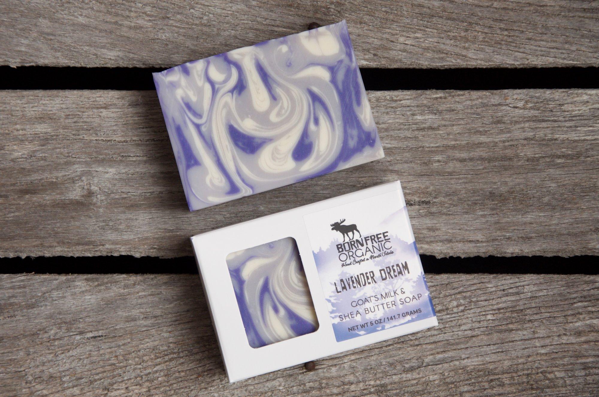 Born Free Lavender Soap