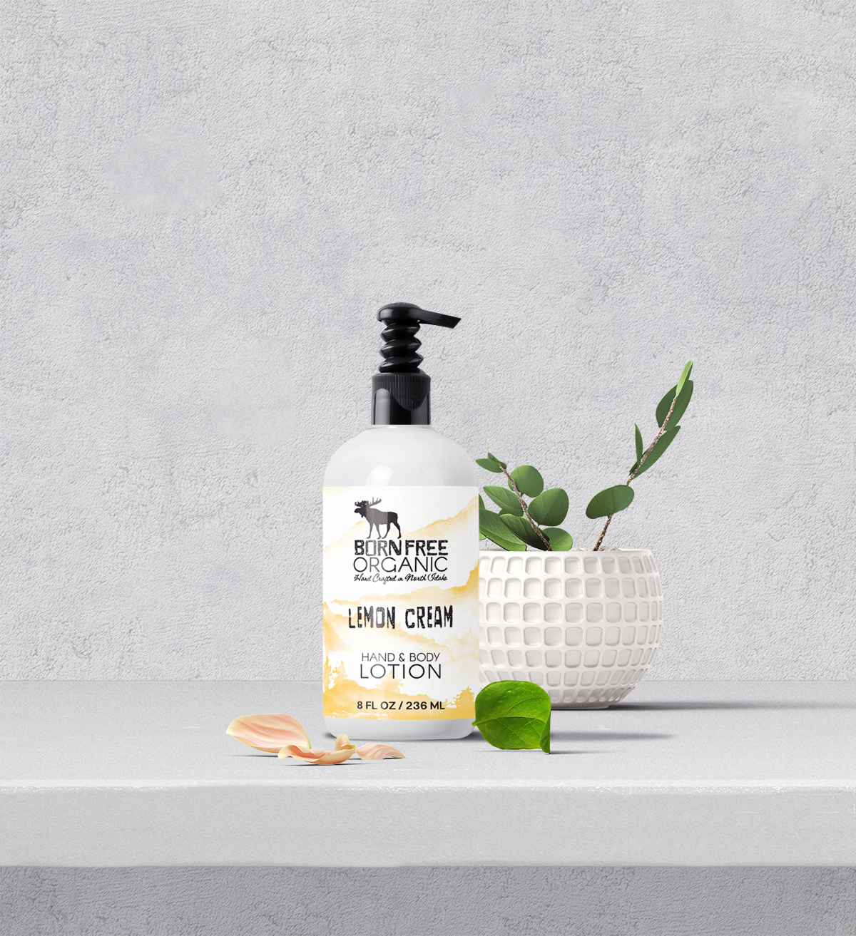 Born Free Lemon Lotion