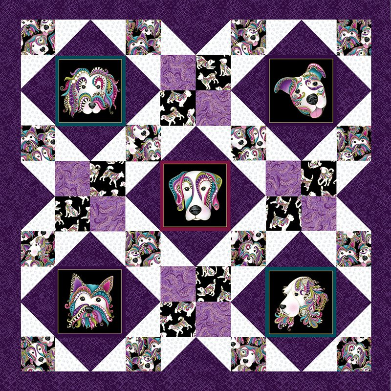 Dog On It - Afternoon Delight Pattern