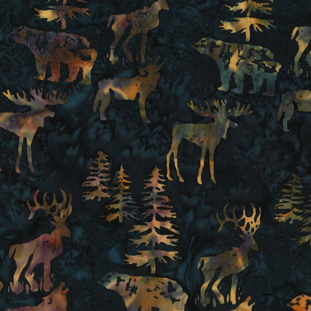 Alaskan Chop Midnight Batik