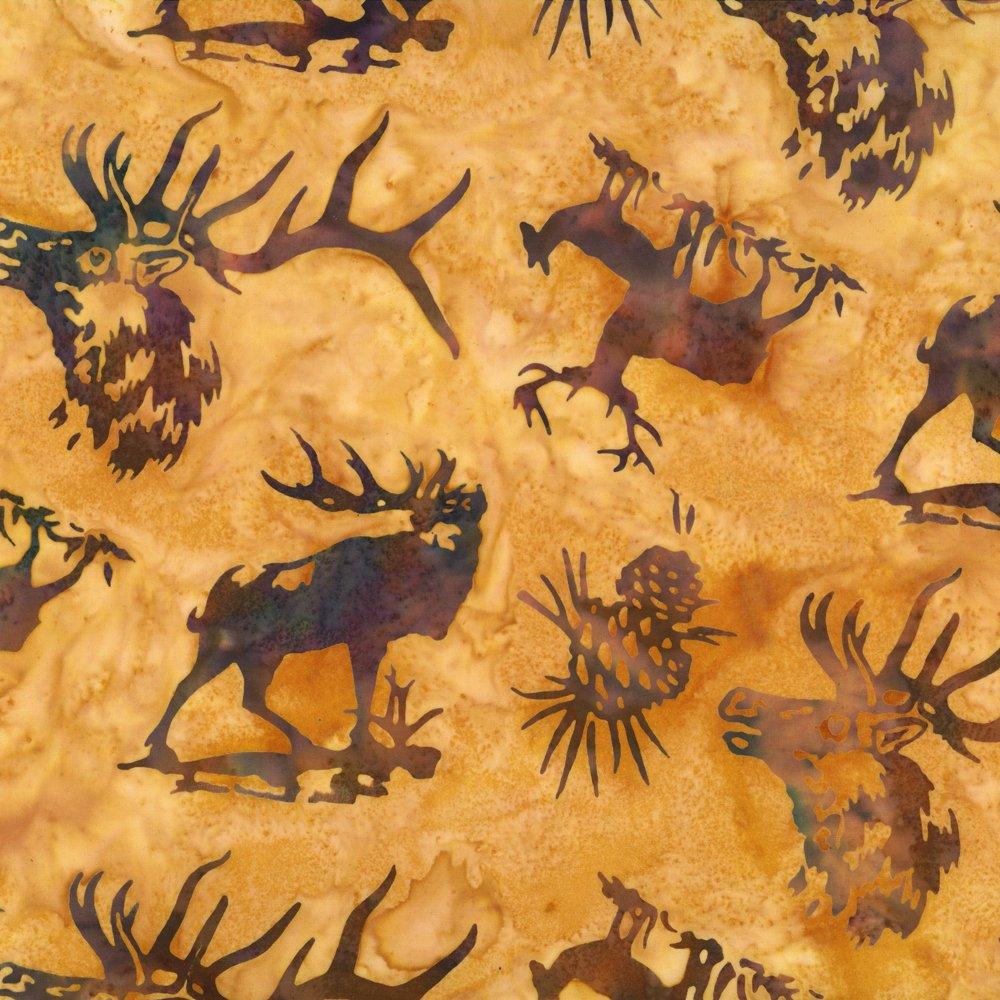 Elk Amber Batik