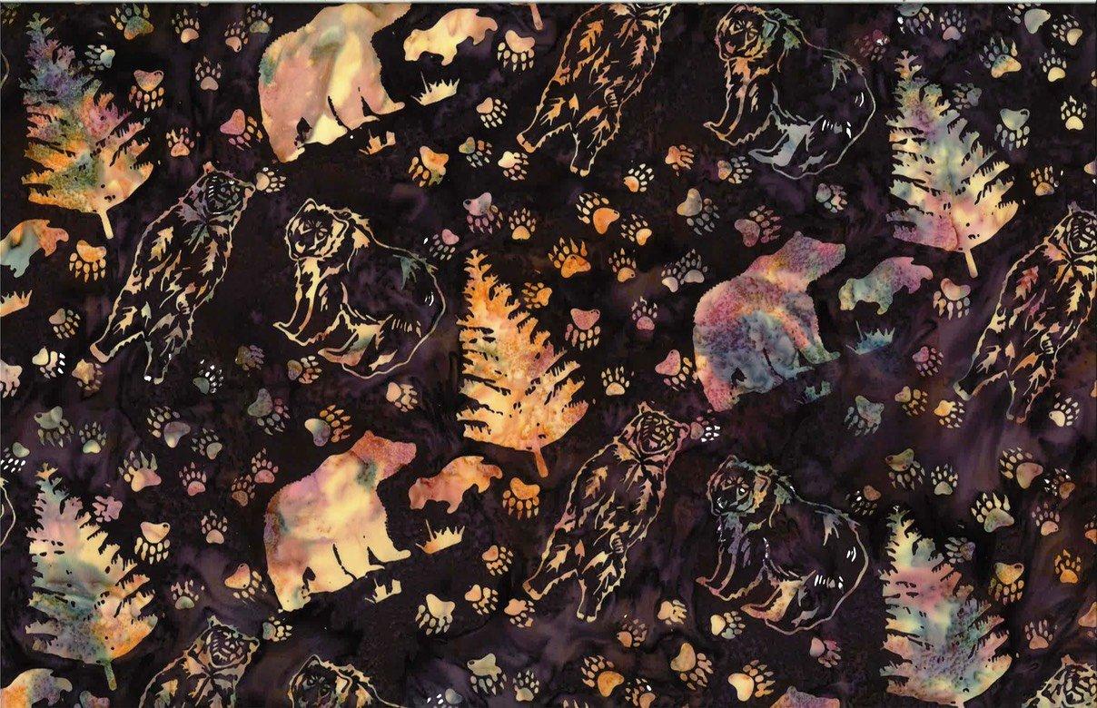 Grizzly Bears - Marsala Batik