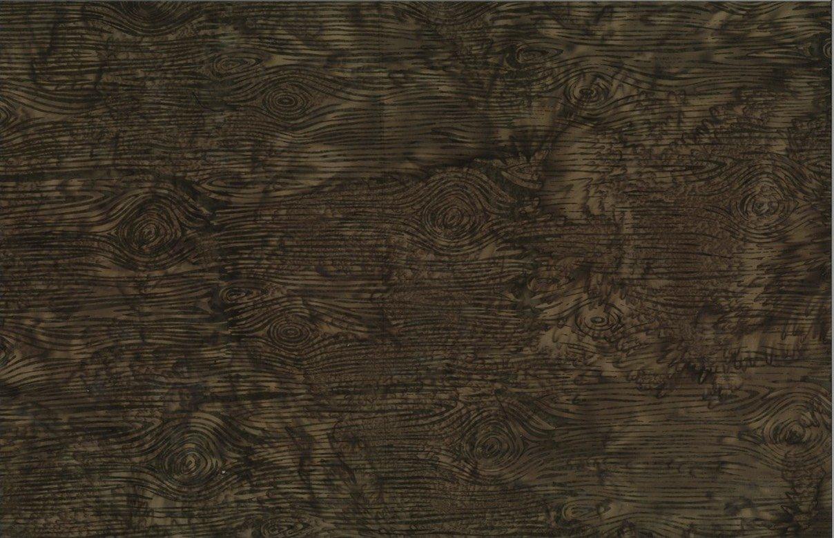 Bali Wood Grain Khaki Batik