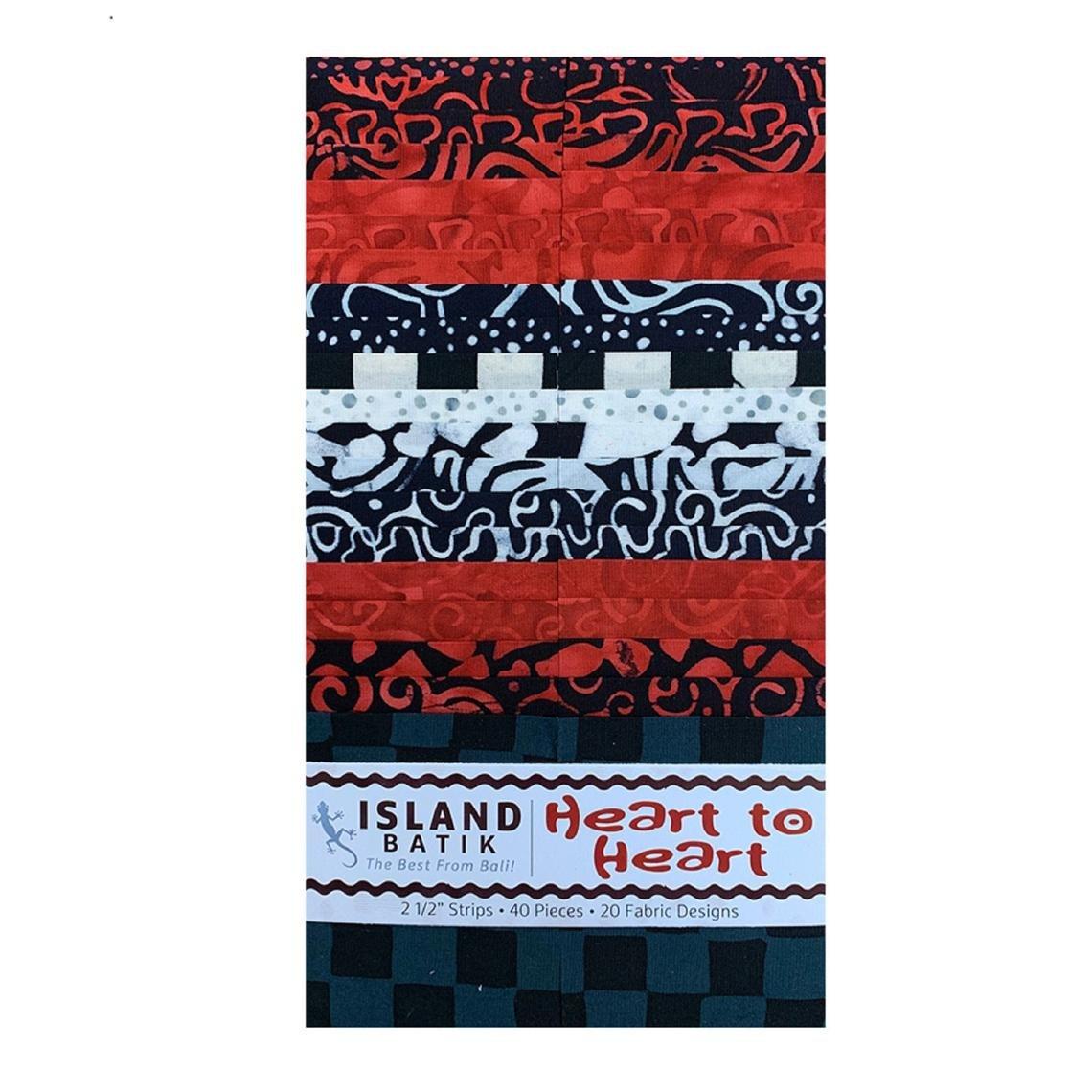 Heart to Heart Batik Strip Pack