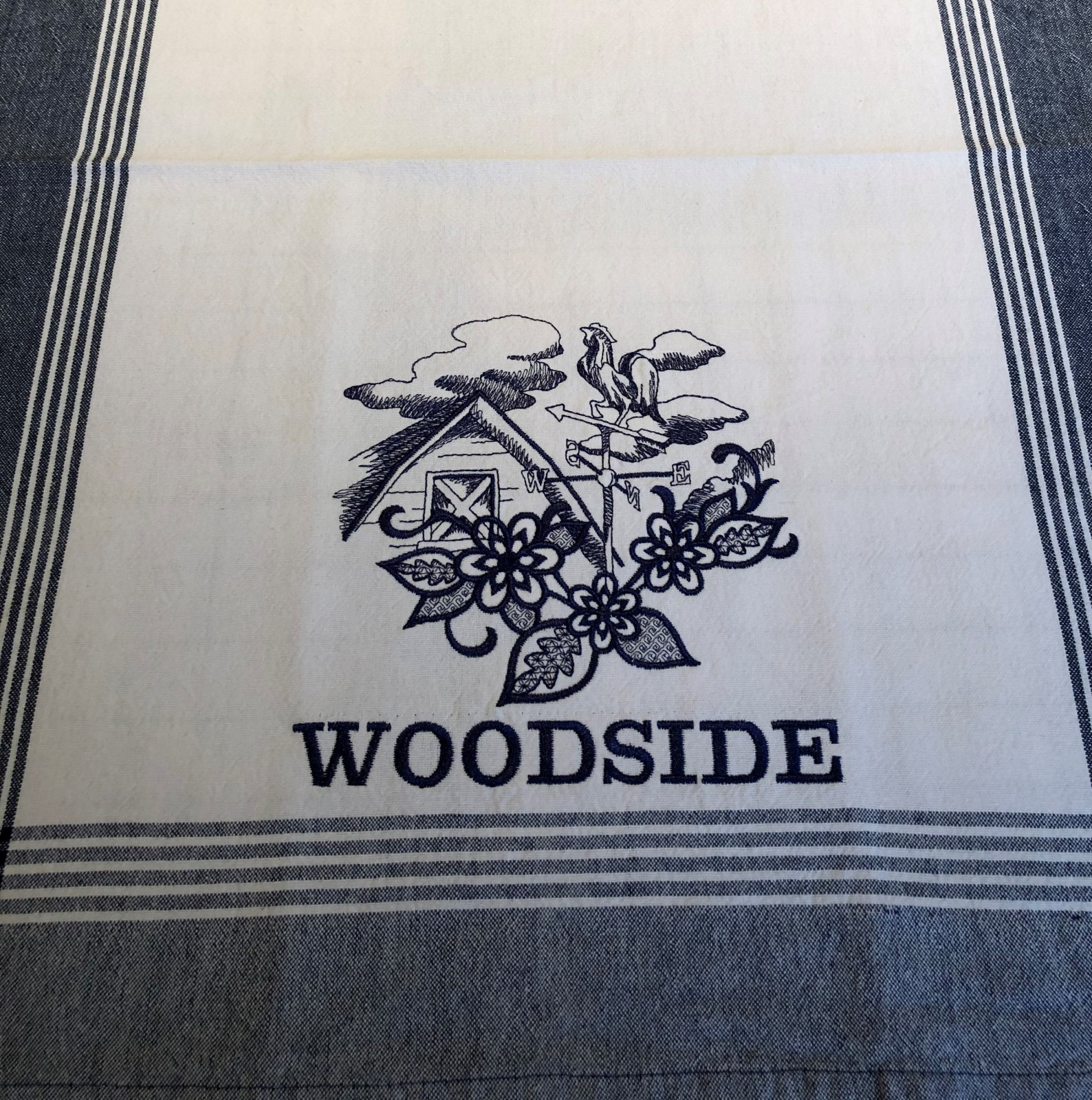 Barn Personalized Kitchen Towel