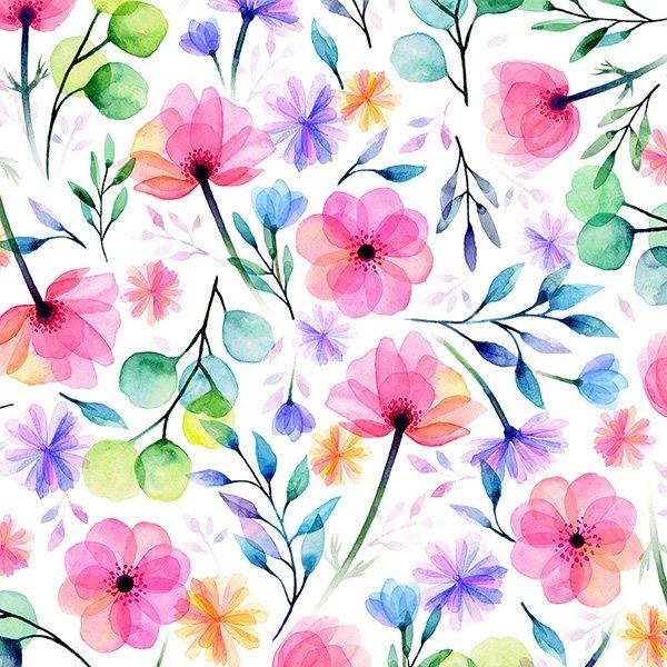 When in Wisteria Blossom Print