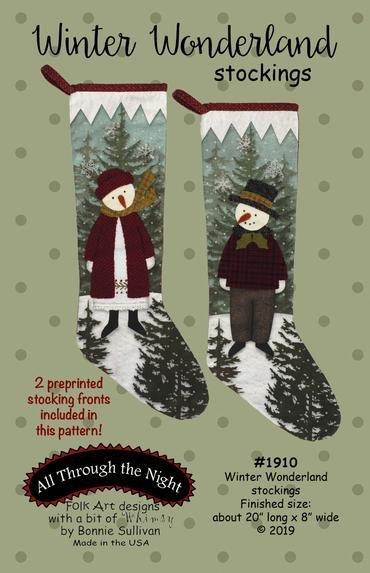 Winter Wonderland Stockings