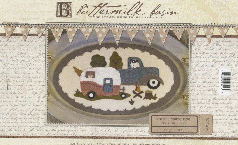 Buttermilk Basin June Vintage Truck Thru The Year