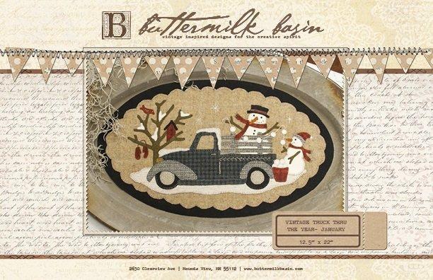 Buttermilk Basin January Vintage Truck Thru The Year