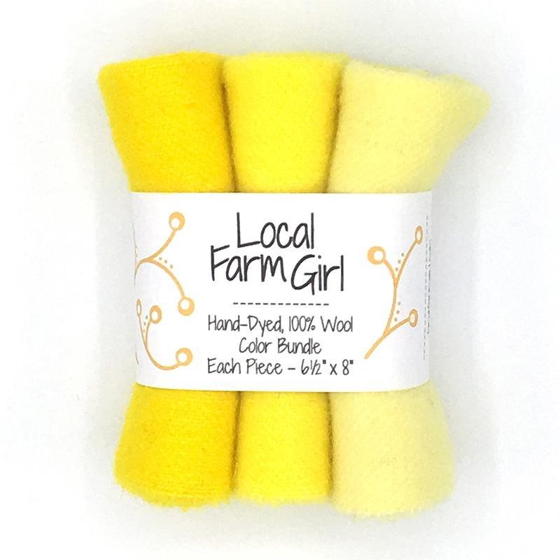 Color Bundle - Bright Yellow