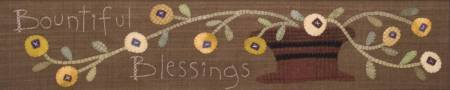 Bountiful Blessings Embroidery & Wool Applique