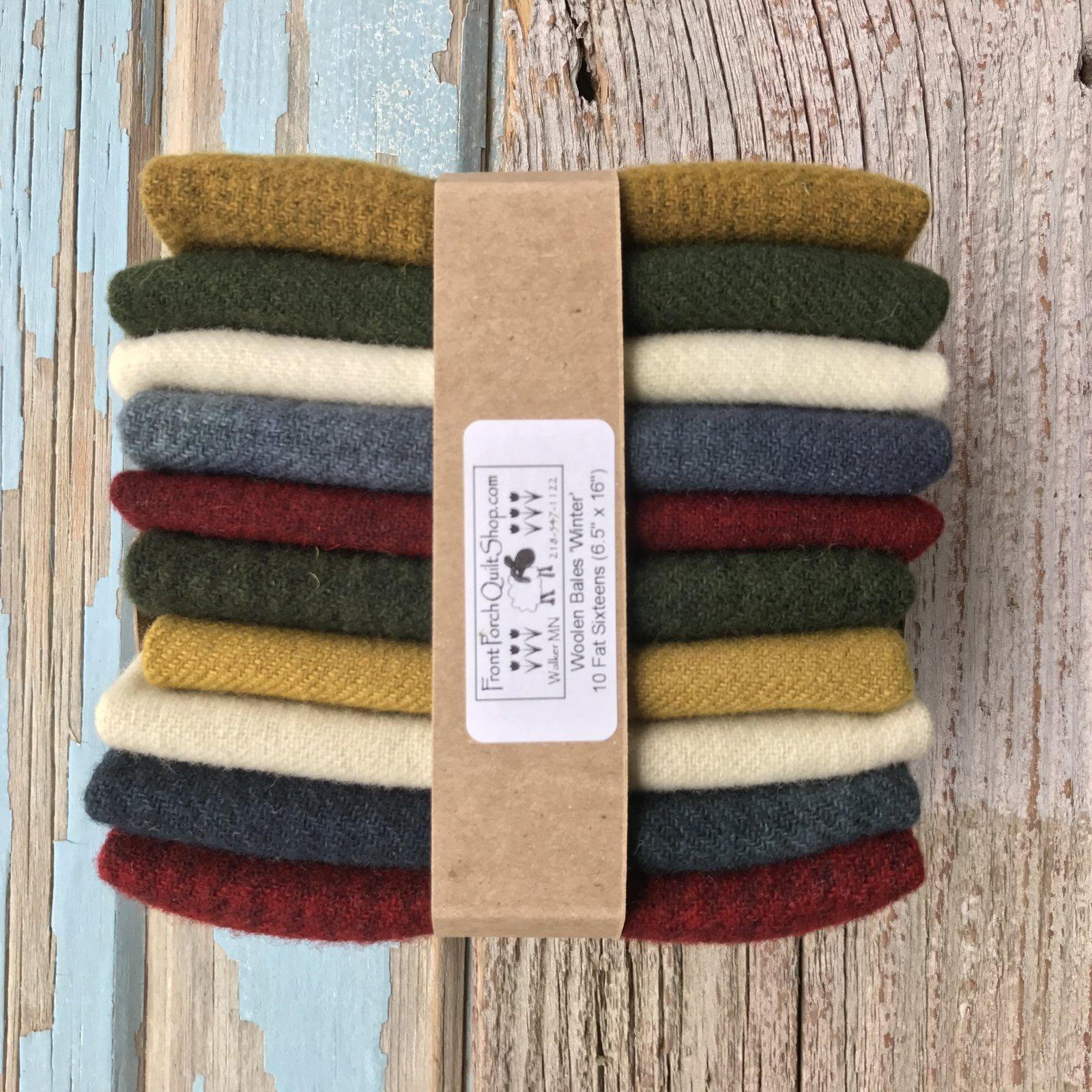Wool Bale-Winter